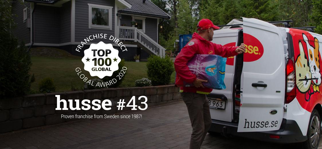 husse, Top50 des meilleurs franchises mondiales