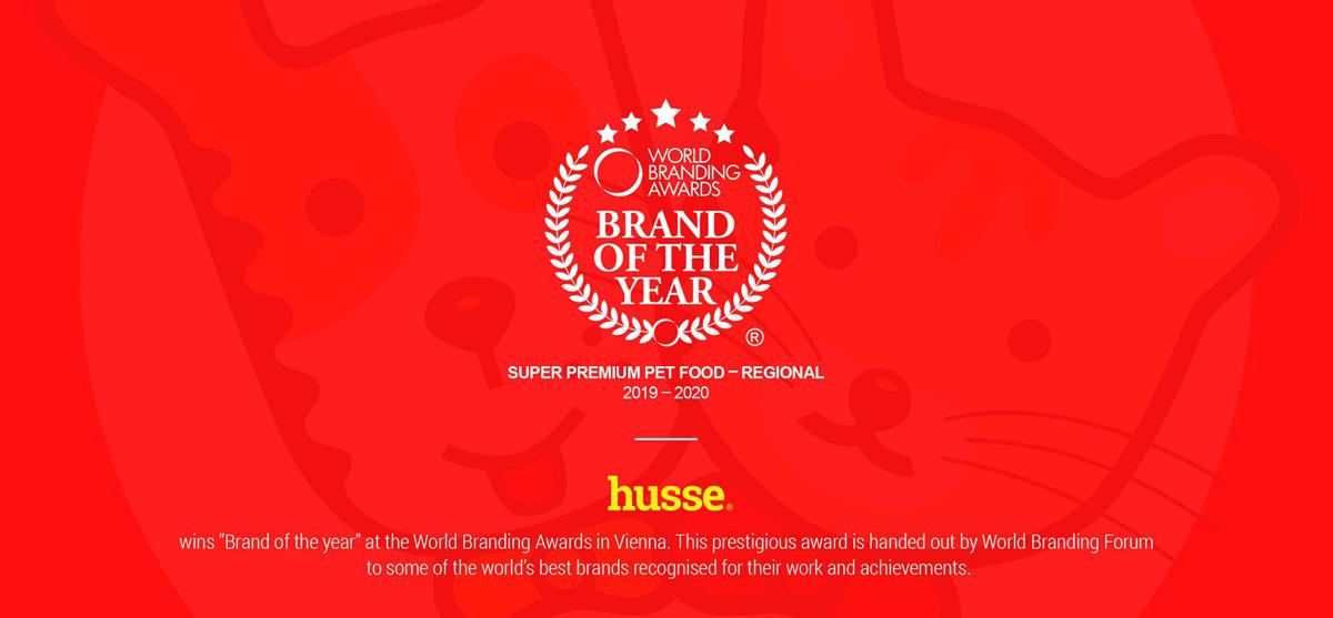Husse Wold Branding Awards 2019