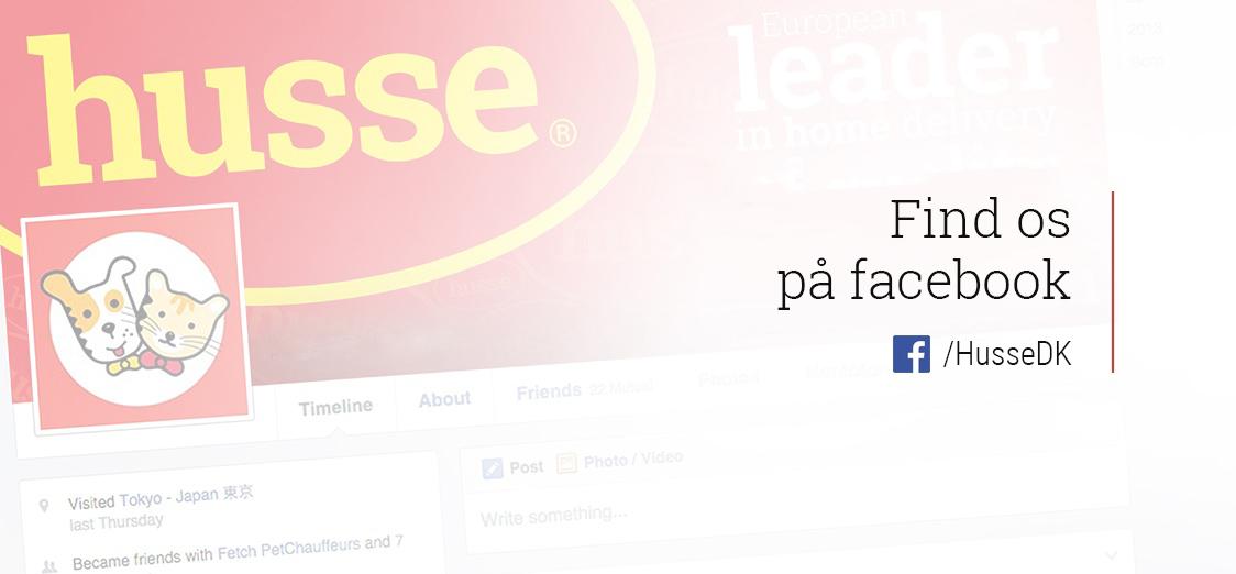 Husse Danmark find os på facebook