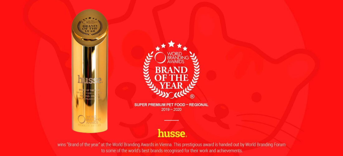 Husse Brand of the Year