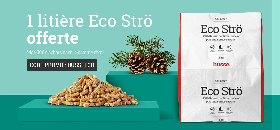1 litière écologique au pin offerte à partir de 30 € d'achats dans la gamme chats