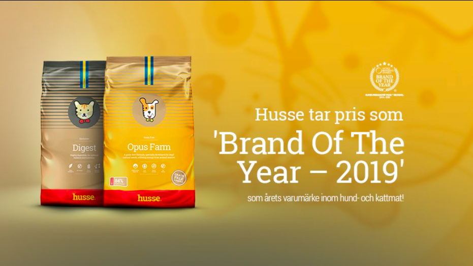 Husse - Brand Of The Year 2019