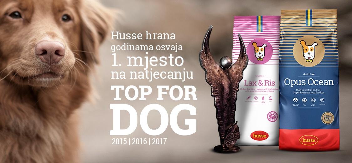 Husse osvaja 1 mjesto na natjecanju TOP FOR DOG
