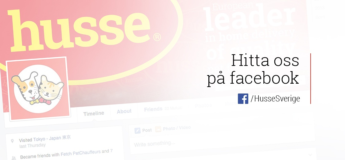 Husse Sweden Facebook Page