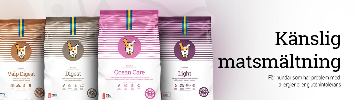 Specialfoder för hundar