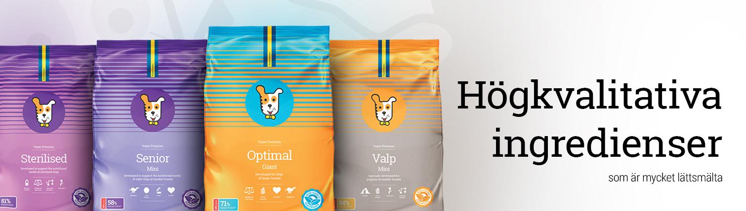 Super Premium Hundfoder
