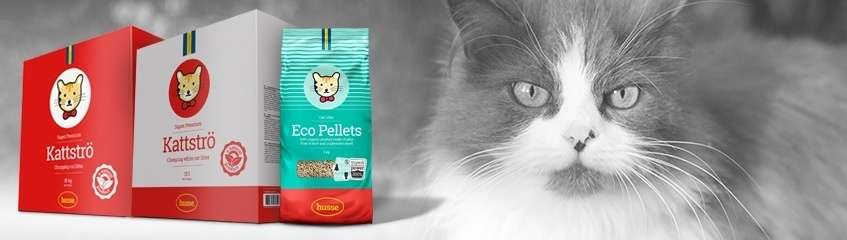 Kattsand och kattlådor till din katt