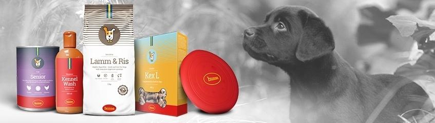 Hundfoder och hundprodukter
