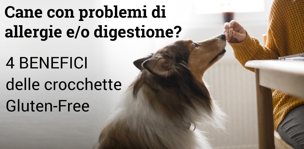 Crocchette per cani con allergie e/o digestione sensibile