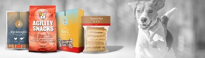 Friandises et biscuits naturels pour chiens
