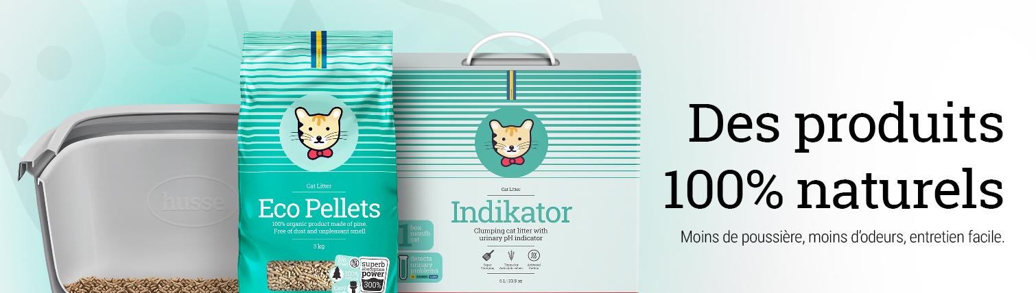 Litière pour chat sans odeur