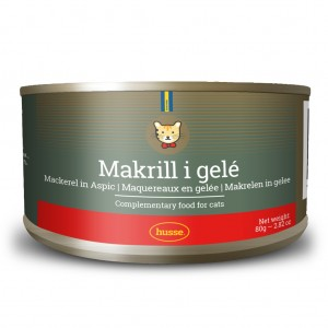 Makrel i gelé: 24 x 80 gr