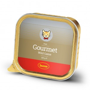 Gourmet Paté med vildt: 32x100 gr