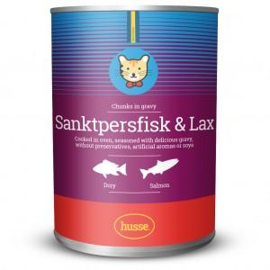 Sanktpersfisk & lax: 400 g