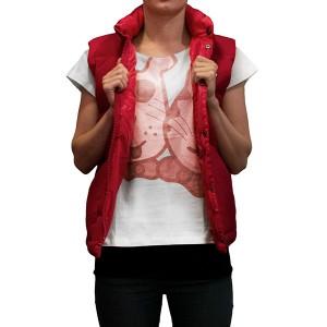 Husse T-Shirt Rita, short sleeve, RED, size XXL