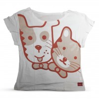 Husse T-Shirt Rita, short sleeve, RED