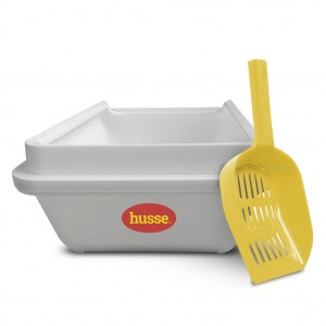 Small Eco Kattströ tray and scoop: 1 pce