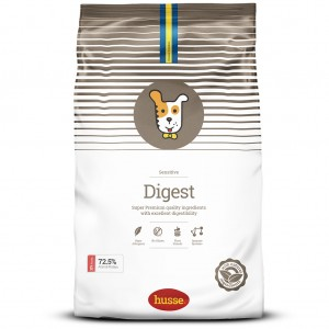 Корм сухой DIGEST SENSITIVE. для собак, 7 кг, Husse