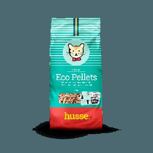 Наполнитель для кошачьего туалета ECO PELLETS, Husse