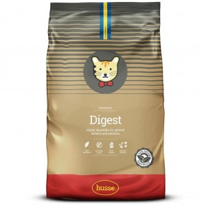 Корм сухой EXCLUSIVE DIGEST, для кошек, 7 кг, Husse