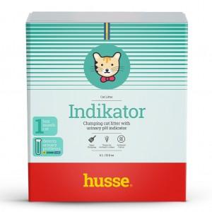 Наполнитель для кошачьего туалета INDIKATOR, Husse