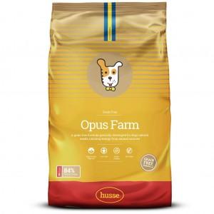 Корм сухой беззерновой OPUS FARM, для собак, 12  кг, Husse
