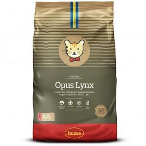 Корм сухой беззерновой OPUS LYNX, для кошек, 7 кг, Husse