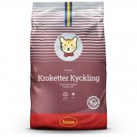 Корм сухой KROKETTER KYCKLING, для кошек, 7 кг, Husse