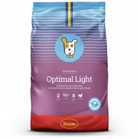 Корм сухой OPTIMAL LIGHT, для собак, 7 кг, Husse