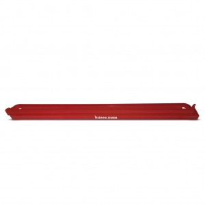 pinza o click de cirre para sacos de pienso de color rojo con el logo husse de 40 centimetros, Röd Klipp