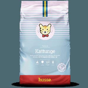Kattunge: 2 kg pienso para gatitos de color azul y rosa