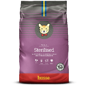 EXCLUSIVE STERILISED husse, pienso para gatos