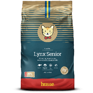 Lynx Senior - With selected ingredients for senior cats, rich in animal protein