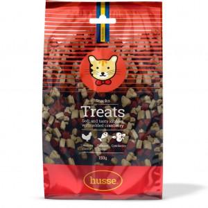 snack sin gluten para gatos