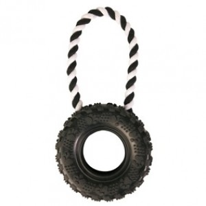 TIRE ON A ROPE