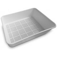 Cat litter tray, Inside grid
