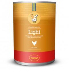 Kousky kuřecího masa light pro dospělé psy