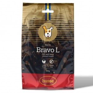 Bravo L: 150 g - Soft and tasty reward treats