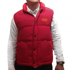 Husse Vest, filled with 100% cotton, L