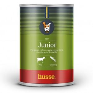 JUNIOR husse, comida en lata para cachorros