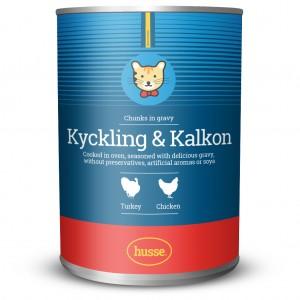Kyckling & Kalkon: 400 g