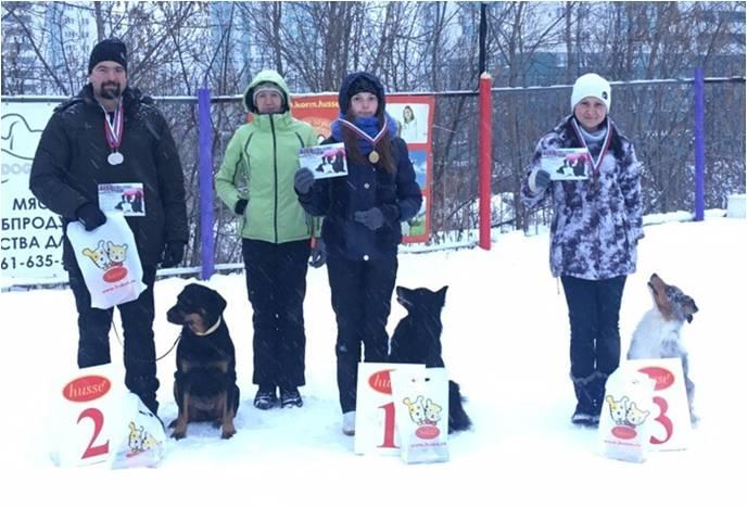 Соревнования по аджилити в Нижнем Новгороде