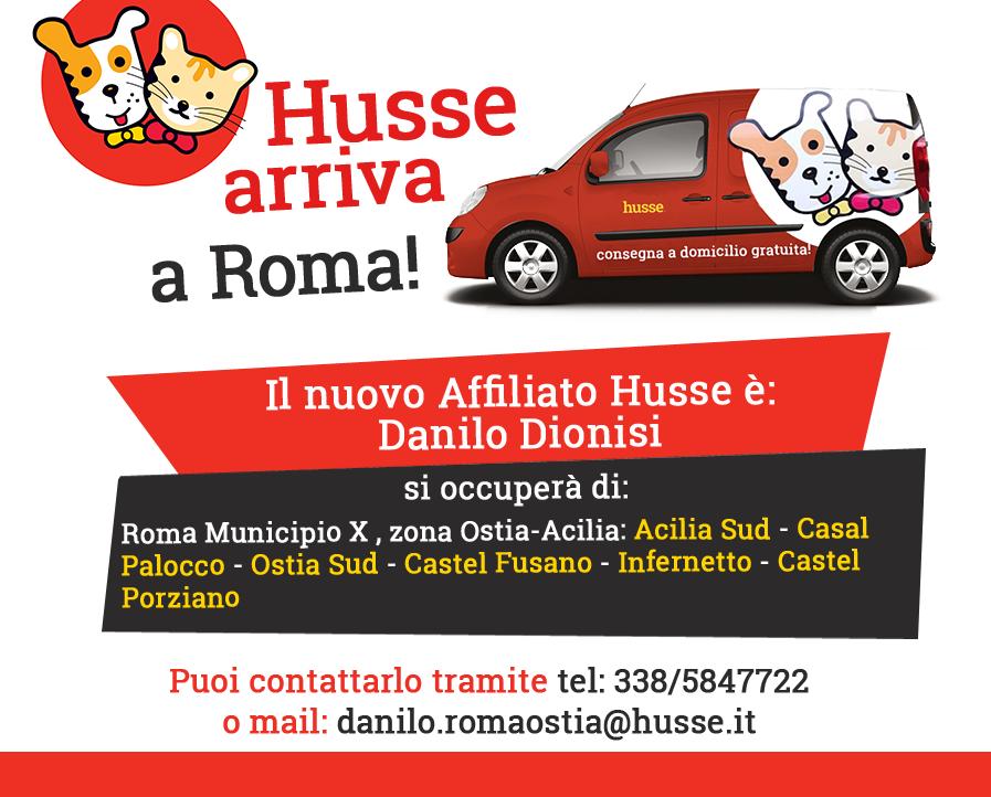 Husse nella capitale: benvenuta Roma!
