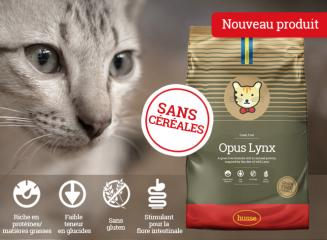 Nouvelles croquettes pour chats sans céréales