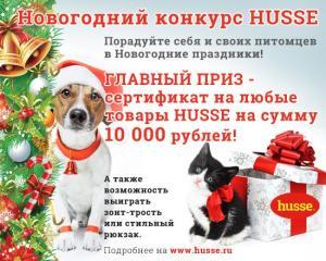 Итоги новогоднего конкурса Husse!
