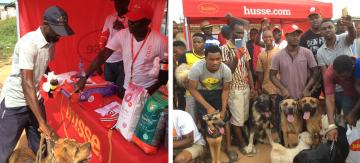 Husse Nigeria took part in Ikorodu Breeders Association's Dog Show
