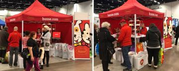 Husse Finland took part in PetExpo in Helsinki
