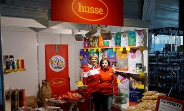 Husse Czech Republic participated in the National Dog Show in Brno