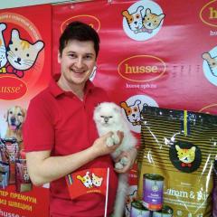 Фотоотчет с международной выставки кошек в Санкт-Петербурге!