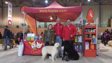 Husse was present at Pet Fair in Seville, Spain